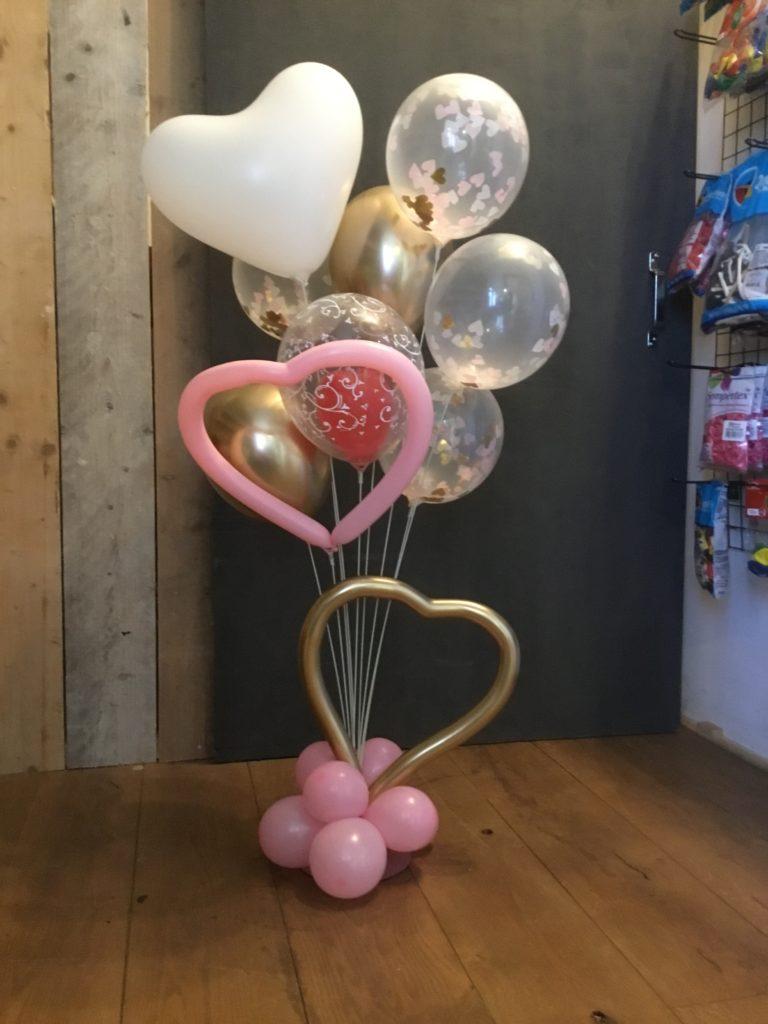 ballonboeket zonder helium