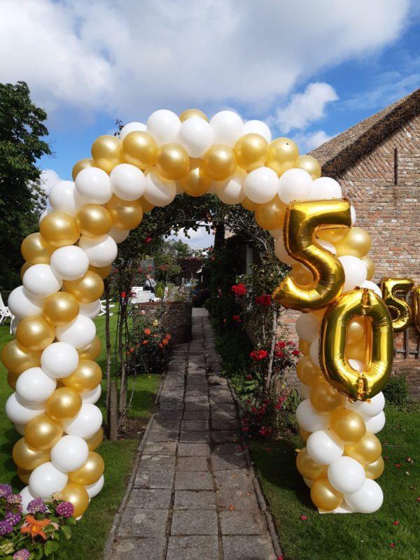 ballonnenboog met folie50