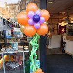 Ballonnen bloem pilaar