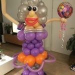Vrolijke Sarah ballonpilaar